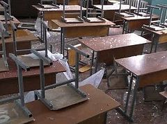 At least 11 killed, 40 injured in shelling in Donetsk, E. Ukraine, school hit