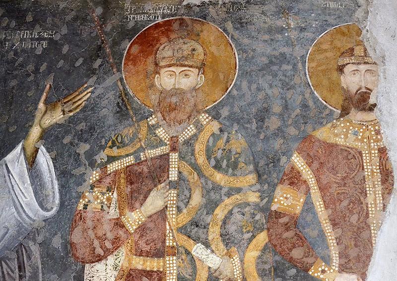 Святой Стефан Певовенчанный