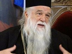 "Metropolitan Amvrosios of Kalavryta: ""We must defend holy Orthodoxy"""