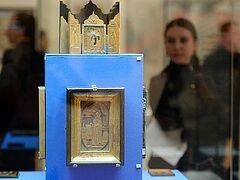 Выставка «Обитель преподобного Сергия» проходит в Москве