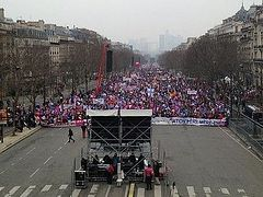 """Protests against same-sex """"marriages"""" in France continue"""