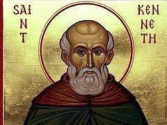 St Kenneth, Abbot of Aghaboe in Ireland