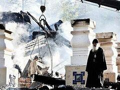 Храм на Ганиной Яме восстановлен после пожара