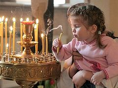 Осторожно, дети! Нюансы хождения в храм вместе с детьми