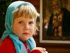 Дети в храме. Продолжение темы