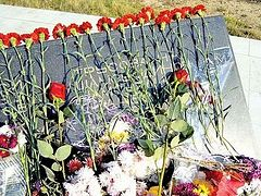 Victims of the terrorist act commemorated in Kaspiysk