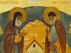 Holy Fathers Seiriol and Cybi of Anglesey in Wales