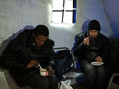 """Heated """"Hangar of Salvation"""" for the homeless opens in Moscow"""