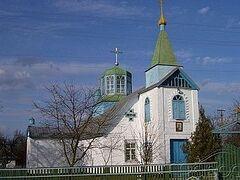 В Киевской области сгорел храм, уцелели только стены
