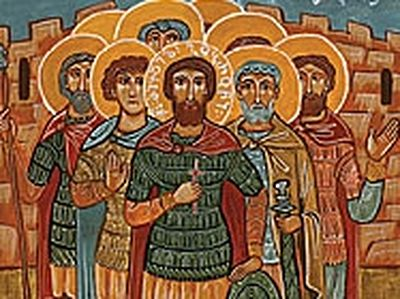 Great-martyr Mikael-Gobron and His 133 Soldiers (†914)