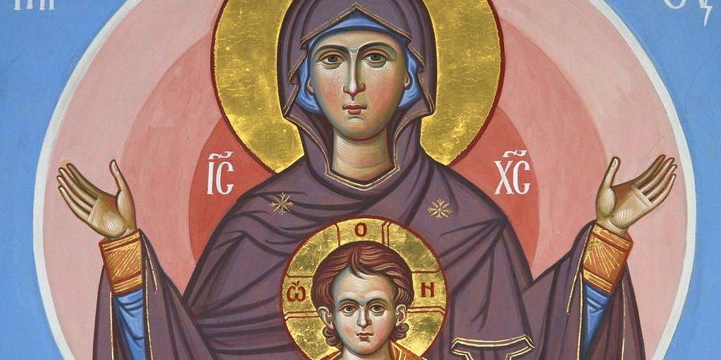 Икона Божией Матери «Знамение» / Православие.Ru