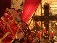 Nine Months In, Orthodox Bishop Takes Stock