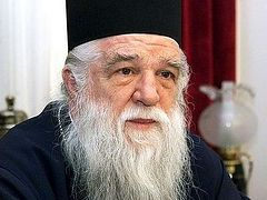 Митрополит Калабрийский Амвросий: Было необходимо встать на сторону своих духовных чад!