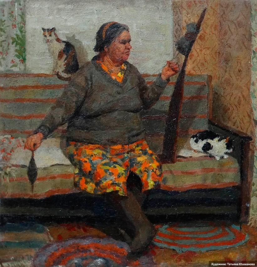 Тетя Нюра