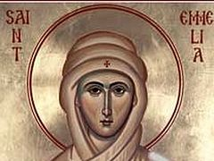 St Emilia, the Mother of St Basil the Great