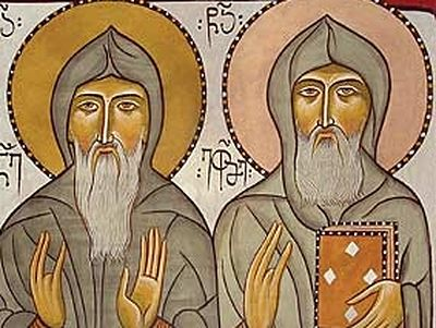 Venerable Ekvtime of Mt. Athos, the Translator(†1028)
