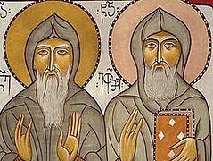 Venerable Ekvtime of Mt. Athos, the Translator(†1028)