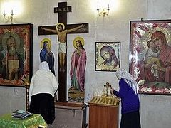 Donbass: community of a destroyed church celebrates its patronal feast