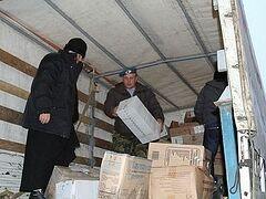 Подарки и продукты питания получили дети Донбасса