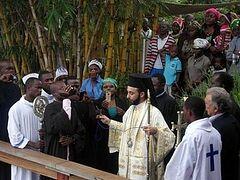 Второй раз в истории были освящены воды реки Конго