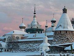 Solovki in Winter