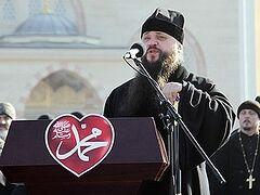 Епископ Махачкалинский и Грозненский Варлаам принял участие в акции в Грозном