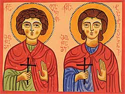 Holy Martyrs, the Brothers Davit and Tarichan (†693)