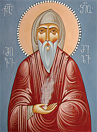 Repose of Venerable Shio of Mgvime (6th century)