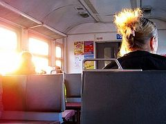The Publican and the Pharisee on a Commuter Train