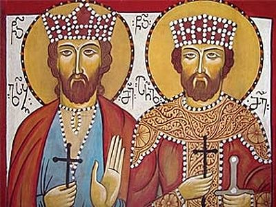 Holy Royal Martyrs Archil and Luarsab (†744 & †1622)