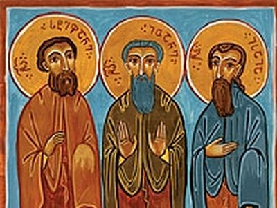 Holy and Righteous Ioane, Stepane, and Isaiah the Georgians