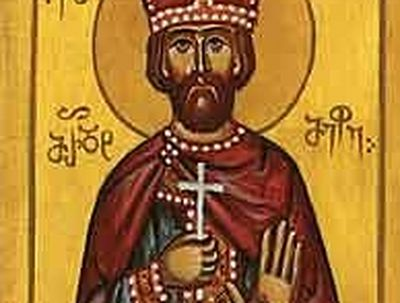 Holy Royal Martyr Mirdat, King of Kartli (†410)