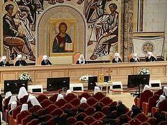 Продолжается работа Архиерейского Совещания Русской Православной Церкви