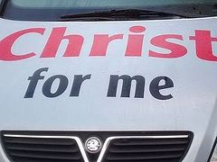 Christian minister claims she was told her Jesus car bumper stickers could invalidate her insurance policy