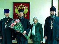 Archbishop Jovan of Ohrid arrives in Russia