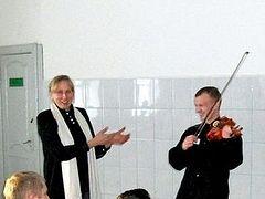 В исправительной колонии прошел концерт духовной музыки