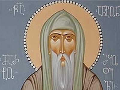 Venerable Anton of Martqopi, the Stylite (6th century)