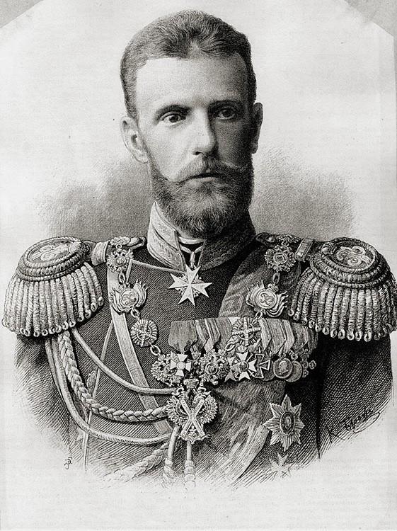 Великий князь Сергий Александрович. 1890-е гг.