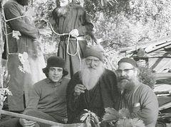 Unique photograph published of St. Paisios's spiritual father, Elder Tikhon