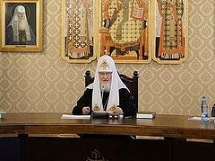 "Patriarch Kirill: ""There is no more important issue today than peace in the Ukrainian land"""