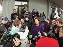 В Петербурге у церкви саентологии прошел митинг
