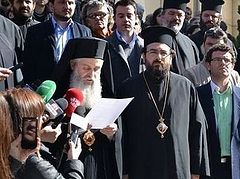 Albanian Orthodox Church protests to the government of Albania