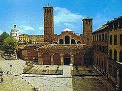 Почитание свт. Амвросия Медиоланского в Милане