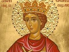 Saint Edward the Martyr, King of England