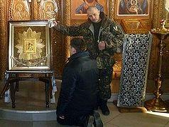 В нижегородскую колонию прибыла икона Божией Матери «Избавительница от бед»