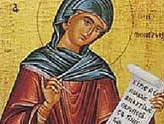 Holy and Great Tuesday: Hymn of Kassiani the Nun