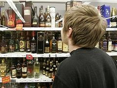 Алкоголь хотят убрать из продуктовых магазинов