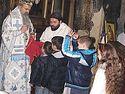 Благослов који имају дечаци из Грачанице