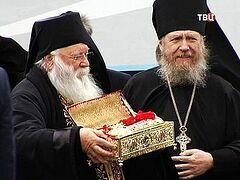 Десница святого Георгия Победоносца прибыла в Россию