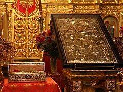 Десница великомученика Георгия Победоносца принесена в Толгский монастырь